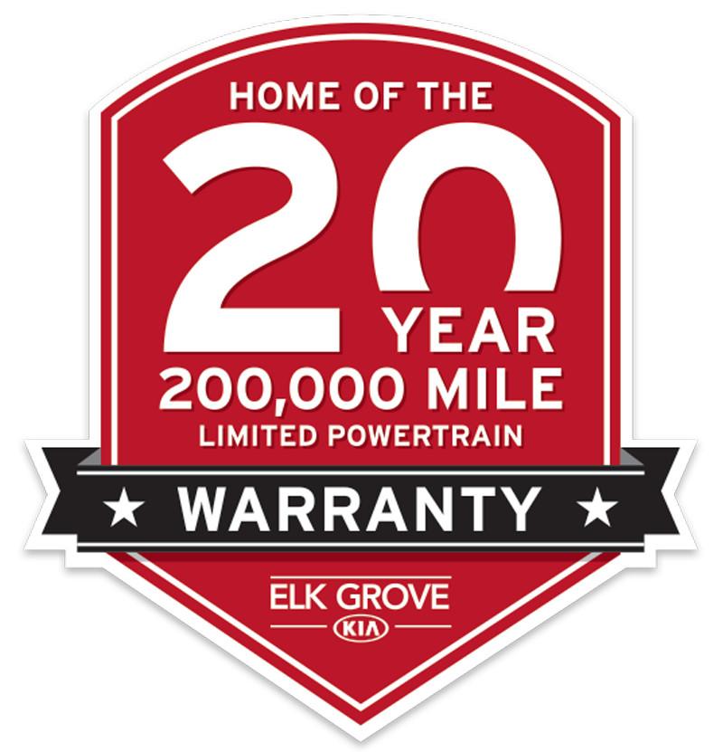 20 Year Warranty - Elk Grove Kia