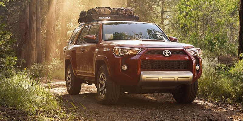 2019 Red Toyota 4Runner