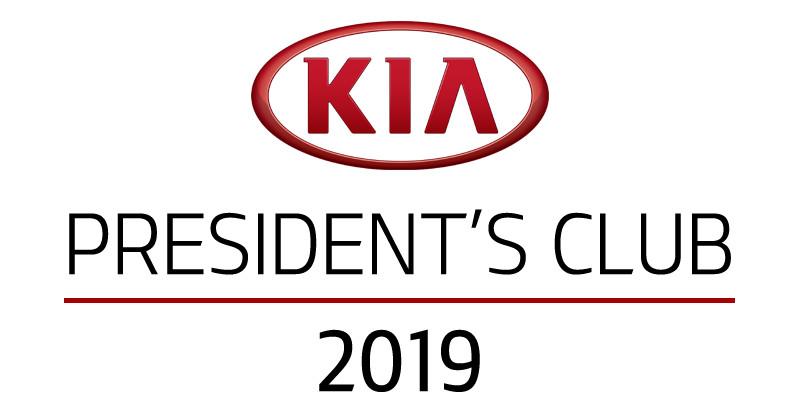 Kia Presidents Club Award Press Release