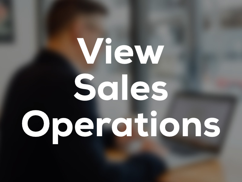 View Sales Operations