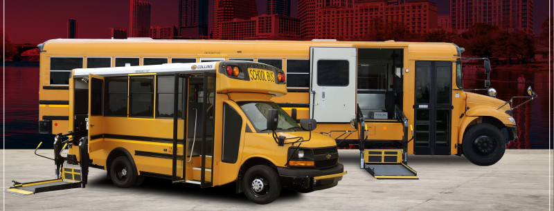Come Check Out Our Wide Range of Special Needs Buses!