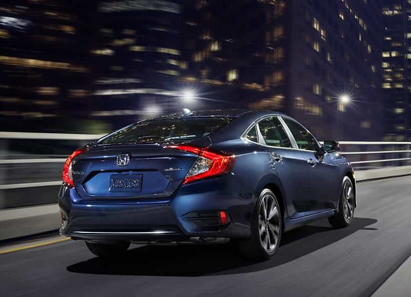 Motor turboalimentado 1.5L disponible en el Honda Civic 2019