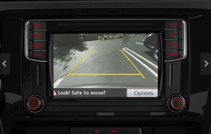 Available Rearview Camera