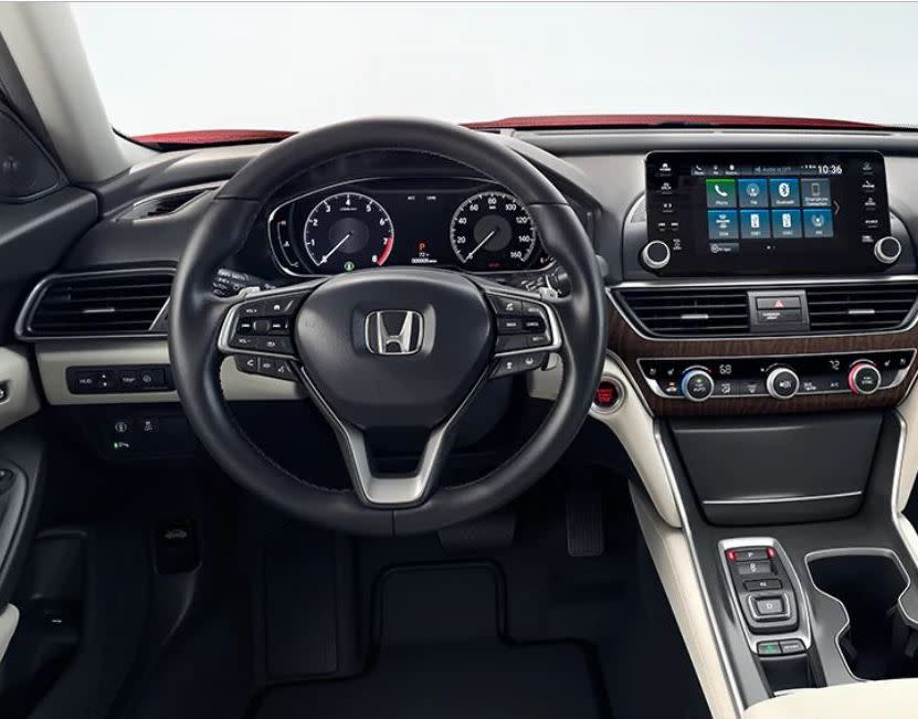 Steering Wheel in the 2020 Accord