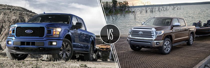 2019 Ford F-150 vs 2019 Toyota Tundra | Head to Head Comparison