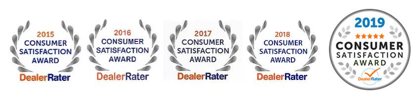 Anderson Toyota DealerRater Consumer Satisfaction Awards