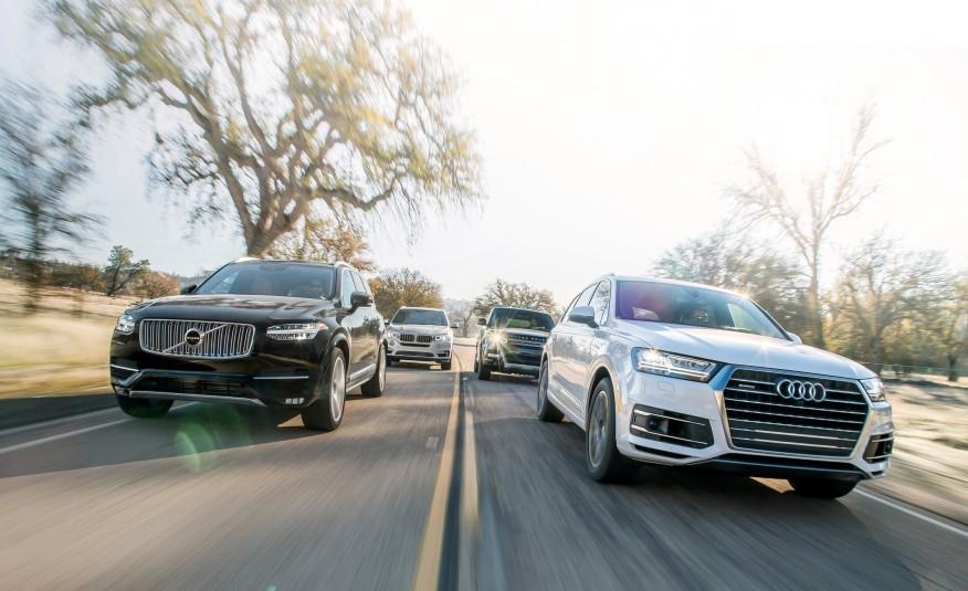 2017 Audi Q7 vs BMW, Volvo and Range Rover