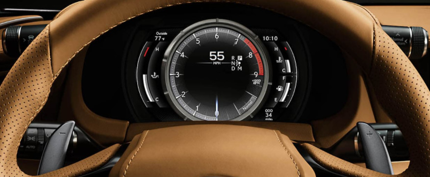 2021 LC 500 Instrument Cluster