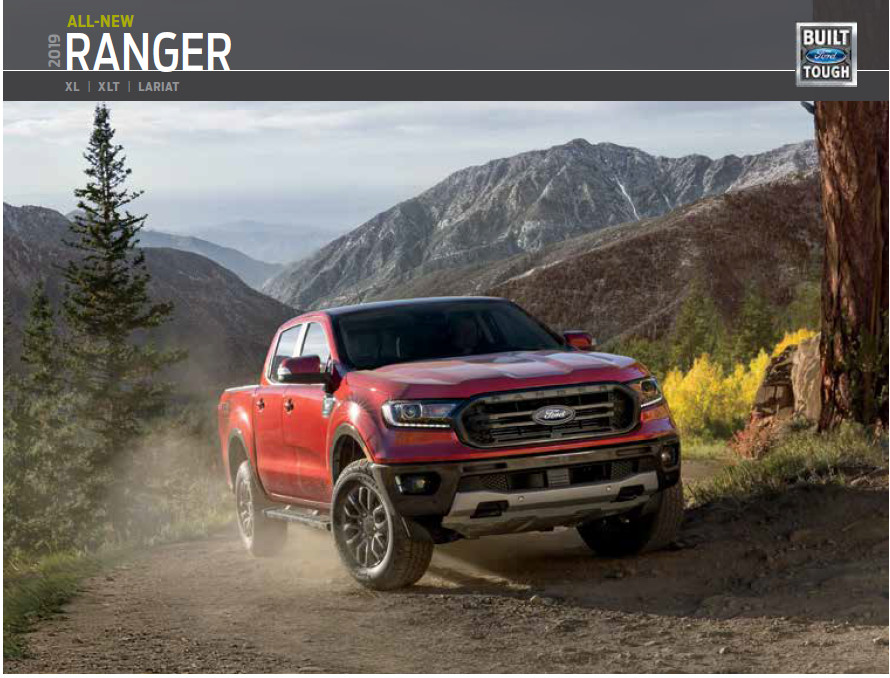 2019 Ford Ranger Brochure from Joe Cotton Ford Carol Stream