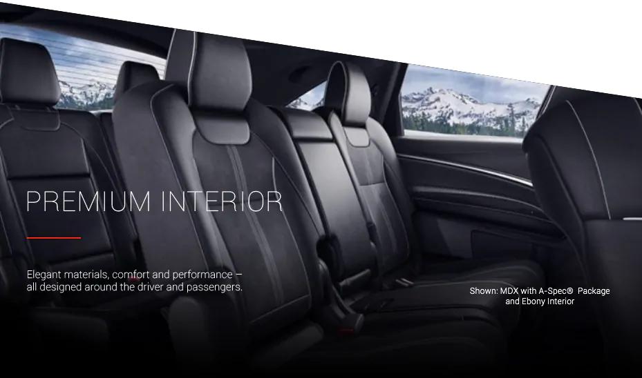 Premium Interior Elegant materials, comfort and performance - all designed around thedriver and passengers.