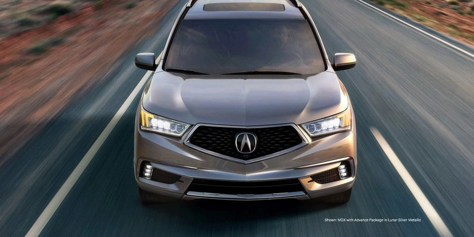 Shown: MDX with Advance Package in Lunar Silver Metallic