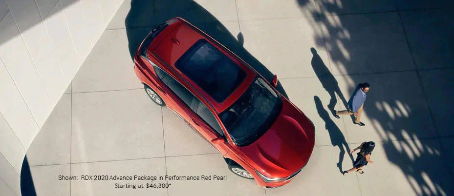 Shown:  RDX 2020 Advance Package in Performance Red Pearl