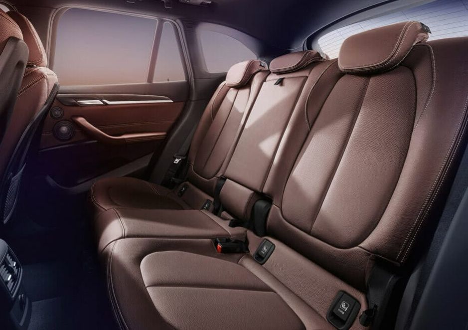 Rear Seating in the X1