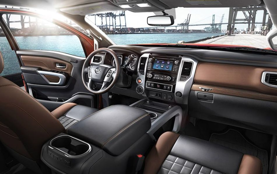 Interior of the 2017 Titan