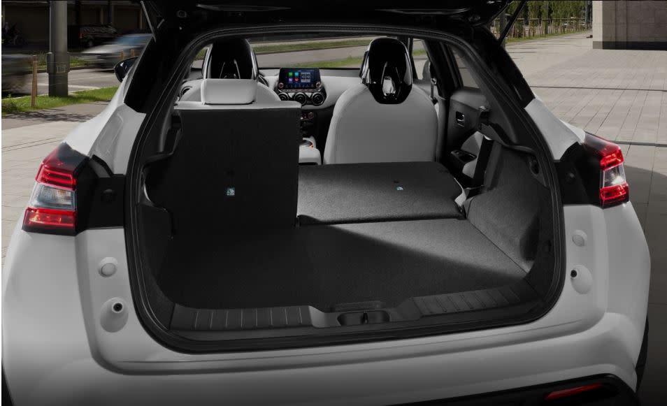 Nissan Juke 2020 bagageruimte | Aben en van de Schelde