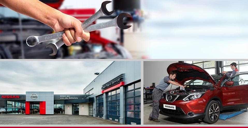 Nissan Garage Tweedehands : Accu vervangen aben en van de schelde uw nissan dealer