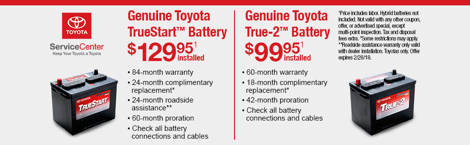 Parts Department Coupons, Specials - Toyota of Tacoma