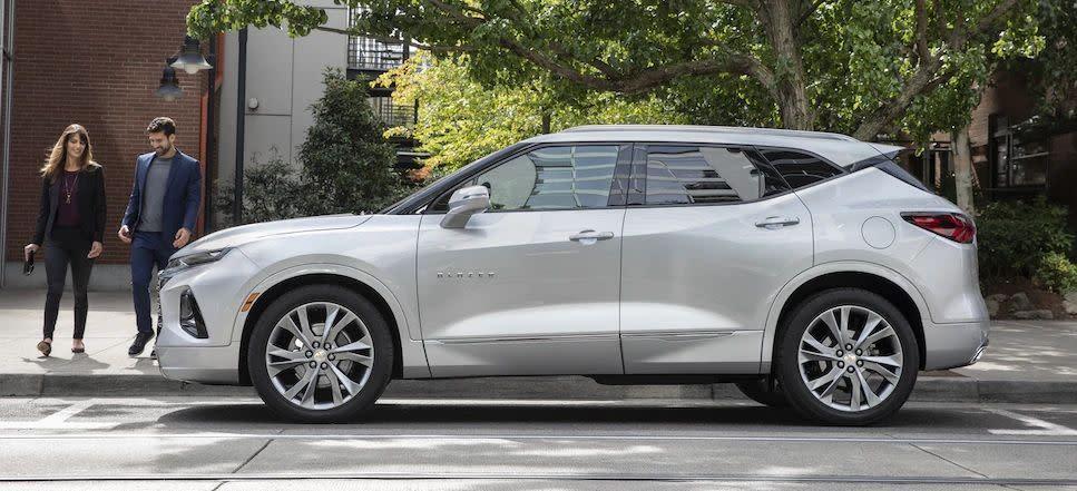 Chevrolet Blazer Premier 2019 en Plata Hielo Metálico