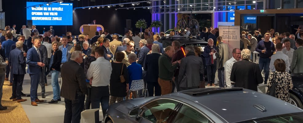 Opening nieuwbouw vestiging Zwolle van Nieuwenhuijse