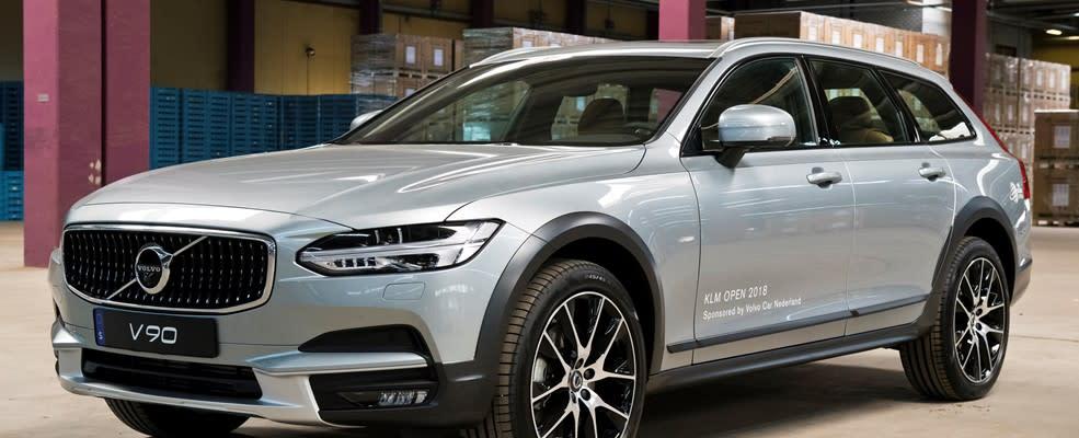 Volvo Car Nederland is offical car supplier KLM open