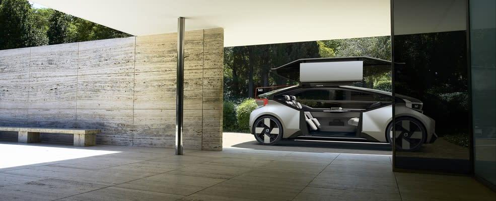 Volvo nieuwe 360c autonome concept