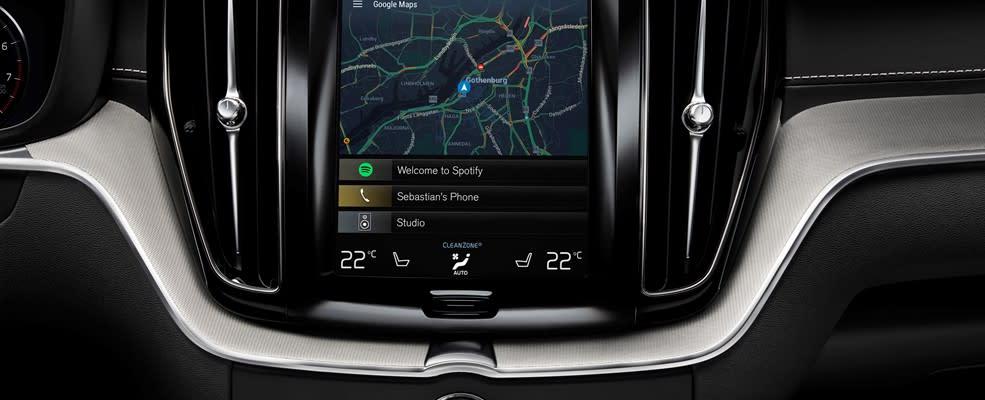 Volvo en Google integreren Android in nieuwe Volvo's