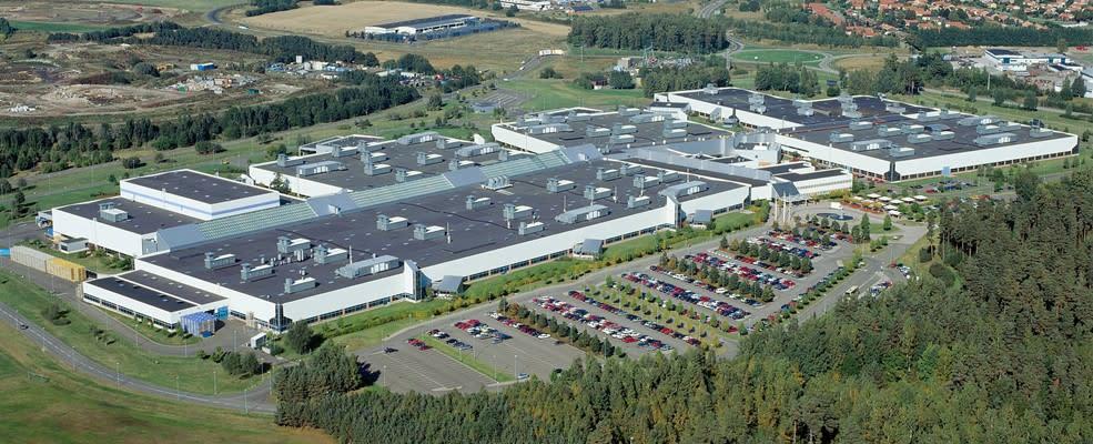 Volvo's eerste klimaatneutrale fabriek in Zweden